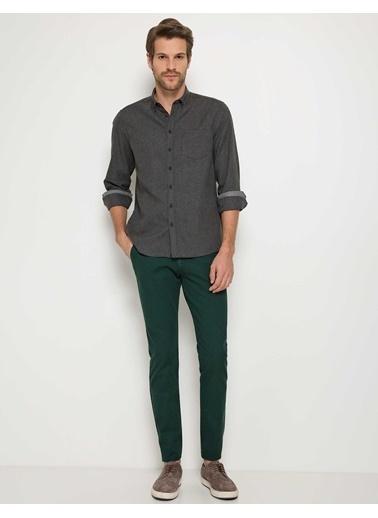Pierre Cardin Uzun Kollu Gömlek Gri